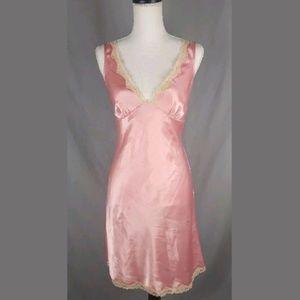 Sz Small Victoria's Secret Pink Slip Nightie Sexy